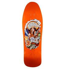 Santa Cruz Jessee Jason Guadalupe Adesivo Skateboard Nero /& Argento 15cm