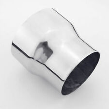 """304 Stainless Steel 4"""" ID to 5"""" OD Exhaust Pipe Reducer Adapter Connector"""