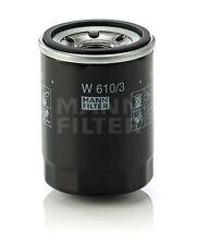 MANN �–lfilter W610/3 für Komatsu PC 15-3, 25 R-8, 27 R-8, 30 R-8, 40-7, 45 R-8