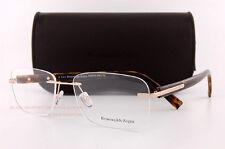 Brand New Ermenegildo Zegna Eyeglass Frames Rimless EZ 5003 028 Tortoise Unisex