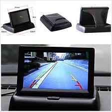 "Car SUV Rear View Backup Reversing Monitor 4.3"" Foldable Digital TFT LCD Screen"