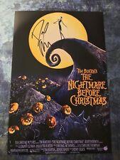 GFA The Nightmare Before Christmas * DANNY ELFMAN * Signed 12x18 Photo AD4 COA
