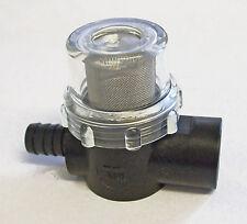 "Water strainer for pumps 1/2""bspf x 1/2"" hosetail     SHURFLO          SHU01A"