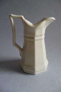 """ANTIQUE RED CLIFF IRONSTONE Creamer Pitcher 3.5""""  - EXCEPTIONAL CONDITION"""