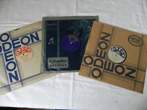 Konvolut2 Schellack-Schallplatten 1930-er und 1940-er