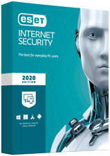 ESET Internet Security 2020 - 5 Device, 1 Year (License Key - Download)