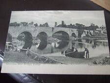 Countess Weir Bridge over the River Exe,  Exeter , Devon Valentines PC 1907