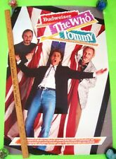 "Orig'l 1989 The Who - Tommy Rock Opera Poster 24"" X 36"" New York & Los Angeles"