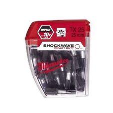 Milwaukee 4932430880 Shockwave 25 pezzi PZ TORX tx25 25mm NUOVO