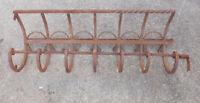 Schmiedeeisen Balkon Verzierung Garderobe Loft Deko Vintage Industrie Design