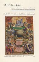 Atlas Royal des August des Starken XL Bericht 1933 9 Seiten 8 Abbildungen +