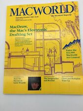 1984 Macworld Apple Computer Macintosh Magazine Collectible
