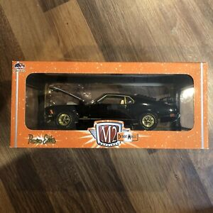 M2 Machines CHASE 1:24 1970 Ford Mustang Mach1 428 1/500 Detroit Muscle R53