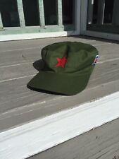 New Cuban Military Baseball Hat, S/M Adjustable