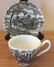 Myott Royal Mail Brown TEA CUP & SAUCER set  Staffordshire England