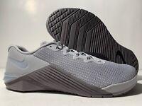 Nike Metcon 5 Men's Gunsmoke Wolf Grey Squat Training Shoes AQ1189-010