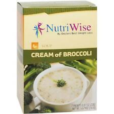 NUTRIWISE | Cream of Broccoli High Protein Diet Soup | Low Calorie, Zero Fat