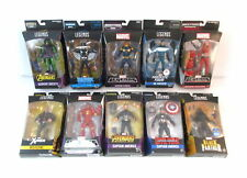 Lot Of 10 Marvel Legends Figures NEW Avengers Wolverine Iron Man Captain America