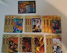 Marvel Overpower CCG Alpha Flight Complete Player Set Hero + Specials 16 Cards