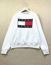 VINTAGE Men's TOMMY HILFIGER Sweater Sweatshirt Jumper Long Sleeve S- M Pullover