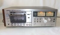 Vintage Sony TC-K6 Dolby Single Tape Cassette Deck Head For Parts or Repair