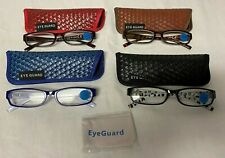 4 EYEGUARD Readers Thin Womens Reading Glasses with Cases 2.00