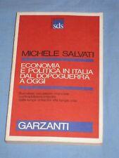 ECONOMIA E POLITICA IN ITALIA DAL DOPOGUERRA A OGGI - Michele Salvati (H5)