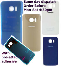 Original Rear Glass Back Battery Cover Housing For SAMSUNG GALAXY S6 G920 G920F