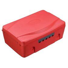 Masterplug Weatherproof Box Red IP54 Outdoor Electric Socket Garden Power