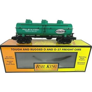 30-7014C MTH New York Central (#103001) 3-Dome Tank Car