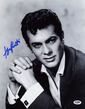 Tony Curtis SIGNED 11x14 Photo Hollywood Movie Legend PSA/DNA AUTOGRAPHED