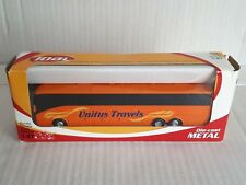 1/87 Joal Unitus Travels Autocar Omnibus Bus Coach In Orange MIB