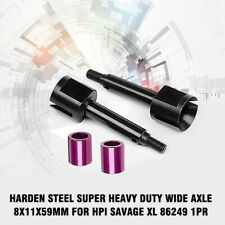 For HPI Savage XL 86249 1PR Harden Steel SUPER HEAVY DUTY WIDE AXLE 8x11x59mm