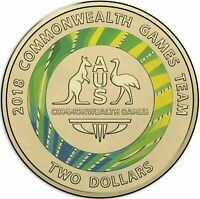 2018 Australia Commemorative $2 Two Dollar coin UNC Green No.-7