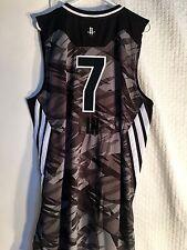 Adidas Swingman NBA Jersey Houston Rockets Jeremy Lin Black All-Star 2013 sz 2X