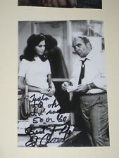 Actor ED ASNER Signed 4x6 MARY TYLER MOORE SHOW Photo AUTOGRAPH 1C