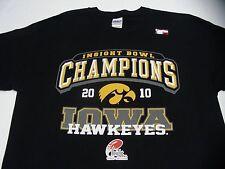 IOWA HAWKEYES - NCAA/FBS/BIG TEN / INSIGHT BOWL - LARGE SIZE T SHIRT!