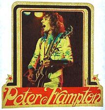 Original Vintage 70s Peter Frampton Mini Iron On Transfer