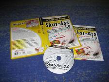 SKAT 3.0 selten gläserne Karten goldene Serie deutsch Data Becker