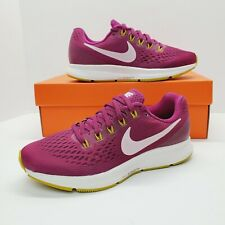 Nike Womens Air Zoom Pegasus 34 (Wide) Running Shoes Size 8