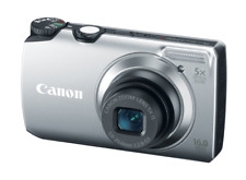 Canon PowerShot A3300 IS 16.0MP Digital Camera Silver HD