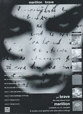 Marillion Brave 1994 Magazine Advert #3848