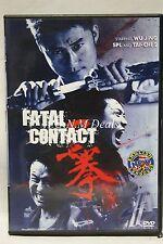 fatal contact wu jing ntsc import dvd English subs