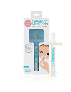 NEW Fridababy MediFrida BABY MEDICINE DISPENSER + PACIFIER 0+ MONTHS Health Care