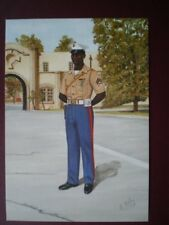 POSTCARD US MARINE CORPS SECURITY FORCE - CORPORAL BATTALION ANTLANTIC