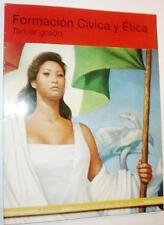 Formacion Civica y Etica: Tercer grado [Paperback] [Jan 01, 2008] Josefina Vasq