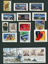 Canada 2004 Year Set NH, 83 Stamps - 8 Sheets & 57 Stamps, Complete By Scott