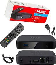 MAG 420 Original Infomir 4K IPTV Set TOP