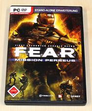 F.E.A.R. - MISSION PERSEUS - STANDALONE ERWEITERUNG - FEAR - PC - FSK 18