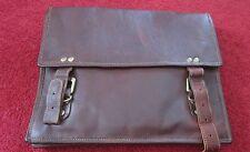 Urban Safari London Unisexe Sac en cuir fait main cuir véritable sacoche sac d'ordinateur portable